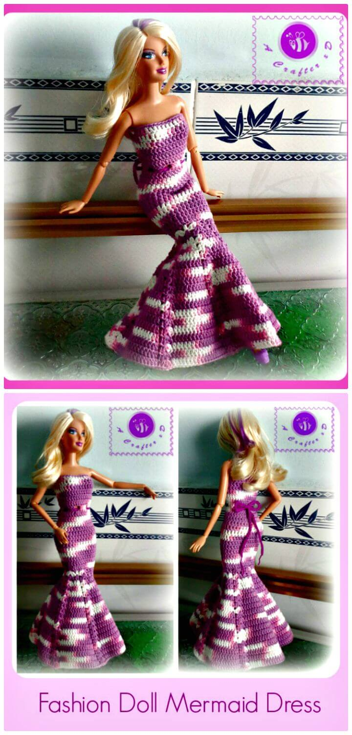 20 Free Crochet Barbie Clothes Pattern Diy Amp Crafts