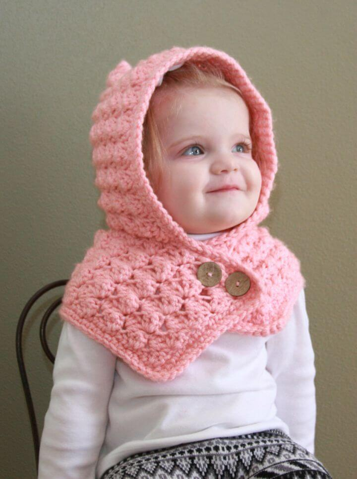 31 Free Crochet Hooded Scarf Patterns Diy Amp Crafts