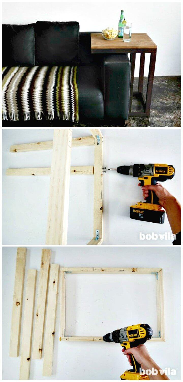 10 Best Diy Sofa Arm Table Ideas Diy Amp Crafts