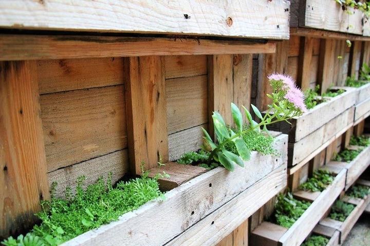 pallet garden box design